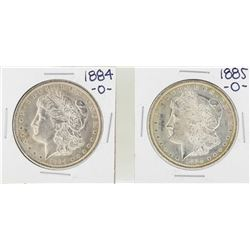 1884-O to 1885-O $1 Morgan Silver Dollar Coins