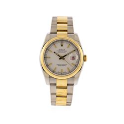 Men's Rolex Datejust Stainless Steel & 18K Gold 116203
