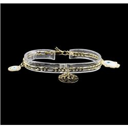 14KT Yellow Gold Charm Bracelet
