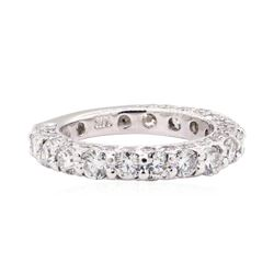 14KT White Gold 2.00 ctw Diamond Band