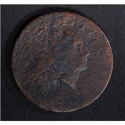 """1793 CHAIN CENT """"THE KING"""" VG/FINE"""