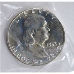 1953 GEM PROOF FRANKLIN HALF DOLLAR