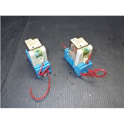 FINDER 60.13.8.120.0000 POWER RELAY *LOT OF 2*