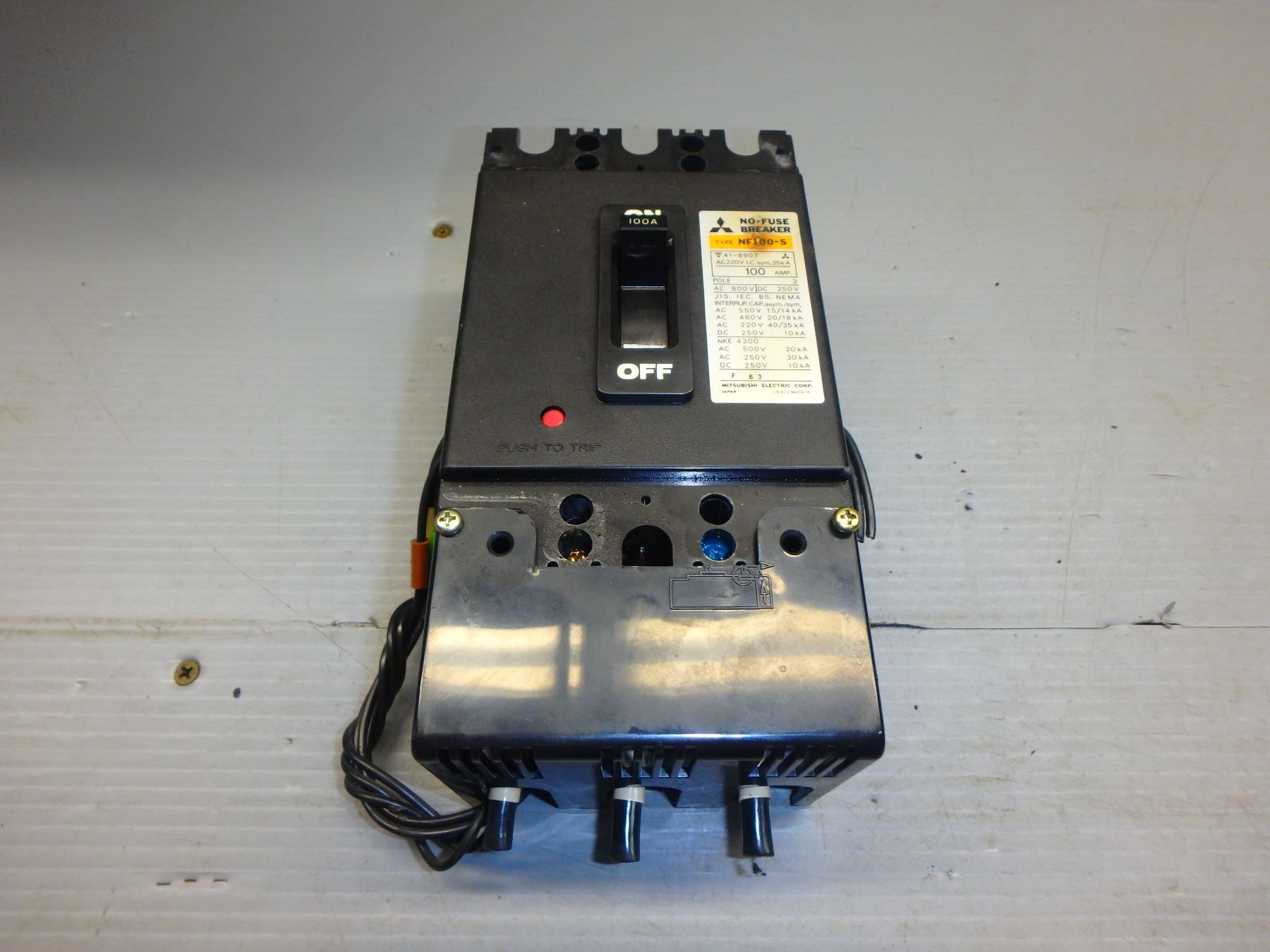 No Fuse Breaker Mitsubishi Car Cs 2p 5a Circuit 5 Amp Nf30 Ebay Source Nf100 S