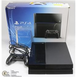 SONY PLAYSTATION 4 - 500GB CONSOLE WITH POWER CORD AND