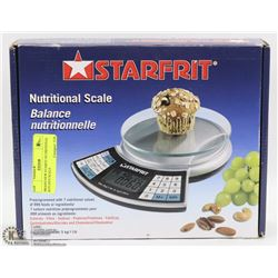 BRAND NEW STARFIT NUTRITIONAL KITCHEN SCALE