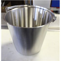 13QT STAINLESS STEEL PAIL