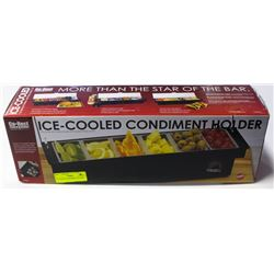 ICE COOLED CONDIMENT HOLDER