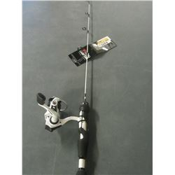 New Abu Garcia Veritas 2.0 ice combo Rod & Reel / great for Hiking or