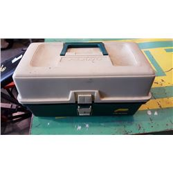 PLANO TACKLE BOX WITH CONTENTS