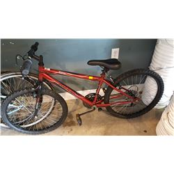 RED HUFFY GRANITE BIKE