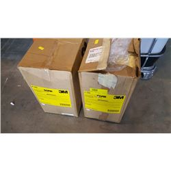 TWO LARGE BOXES OF OIL ABSORBANT