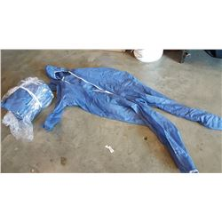 LOT OF NEW DISPOSABLE COVERALLS