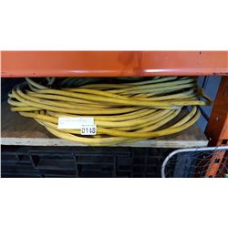 LOT OF HEAVY DUTY EXTENTION CORDS