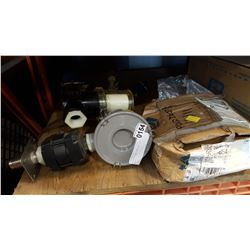 WATER FILTERS PUMP AND LAG BOLTS