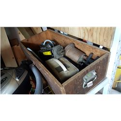 WOOD TOOL CASE WITH TOOLS