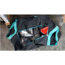HOCKEY BAG OF DIRT BIKE GEAR