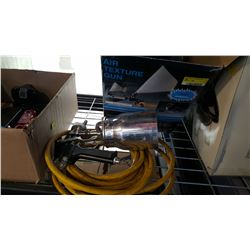 AIR TEXTURE GUN AND PAINT SPRAYER WITH HOSE