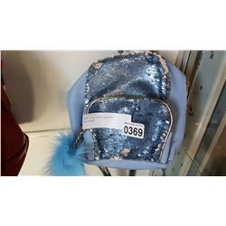 NEW KIDS BLUE SEQUENCE BACKPACK