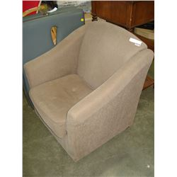 UPOLSTERED EASY ARMCHAIR