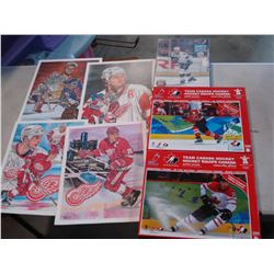 HOCKEY PRINTS AND PUZZLES