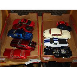 TWO TRAYS OF DIECAST VEHICLES