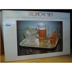 TROPICAL DRINK SERVING SET