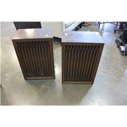 PAIR OF VINTAGE KENWOOD KL888S FIVE WAY SPEAKERS