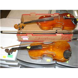 COPY OF ANTONIUS STRATOVARIOUS 1713 AND LARK VIOLINS