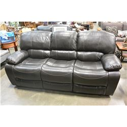 NEW SIERRA 3 PIECE SOFA  SET,PALOMINO FABRIC CONTEMPORARY MOTION RECLINING