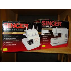 SINGER TINY SERGER AND TINY TAILOR