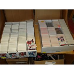 TWO BOXES OF HOCKEY CARDS