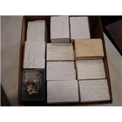 BOX OF SPORTS CARDS