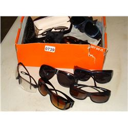 TRAY OF ASSORTED SUNGLASSES