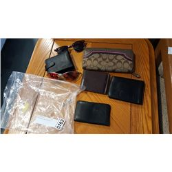 SUNGLASSES AND WALLETS