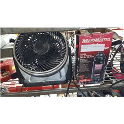MOTOMASTER 6 TON BOTTLE JACK, SMALL FAN