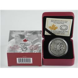 .9999 Fine Silver $20.00 Coin - First Royal Visit