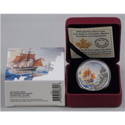RCM Issue: Fine Silver Lost Ships Coin