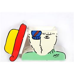 Peter Max, Zero, Ceramic Cookie Jar