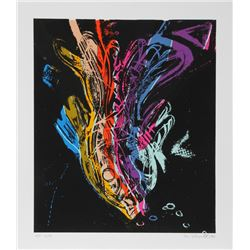 William Rabinovitch, Fish of Life, Serigraph