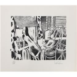 Arnie Levin, Air Conditioning, Lithograph