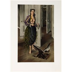 Dorothea Tanning, Birthday (Self Portrait at age 30, 1942), Lithograph