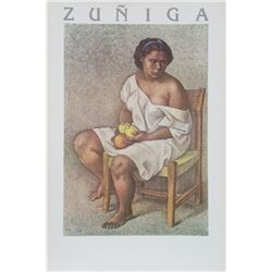 Francisco Zuniga, Woman with Lemons, Poster