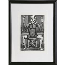 Georges Rouault, Jester, Offset Lithograph