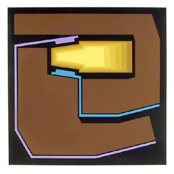 Yves Millecamps, Untitled I, Serigraph