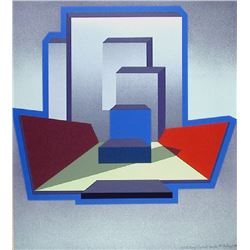 Michael Challenger, Ends and Bends, Serigraph