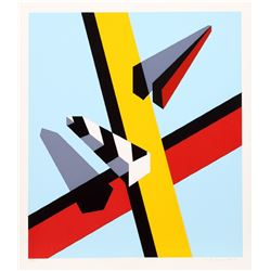 Allan D'Arcangelo, Reflection, Serigraph