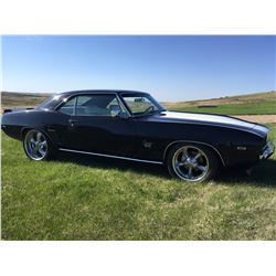 NO RESERVE! 3:30 PM SATURDAY FEATURE  1969 CHEVROLET CAMARO SS RS PRO TOURING CUSTOM
