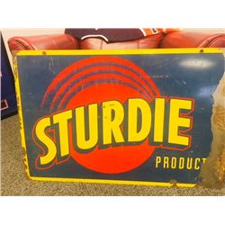 VINTAGE STURDIE PRODUCTS SIGN