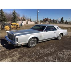1979 LINCOLN CONTINENTAL MARK V ONLY 51000 KM